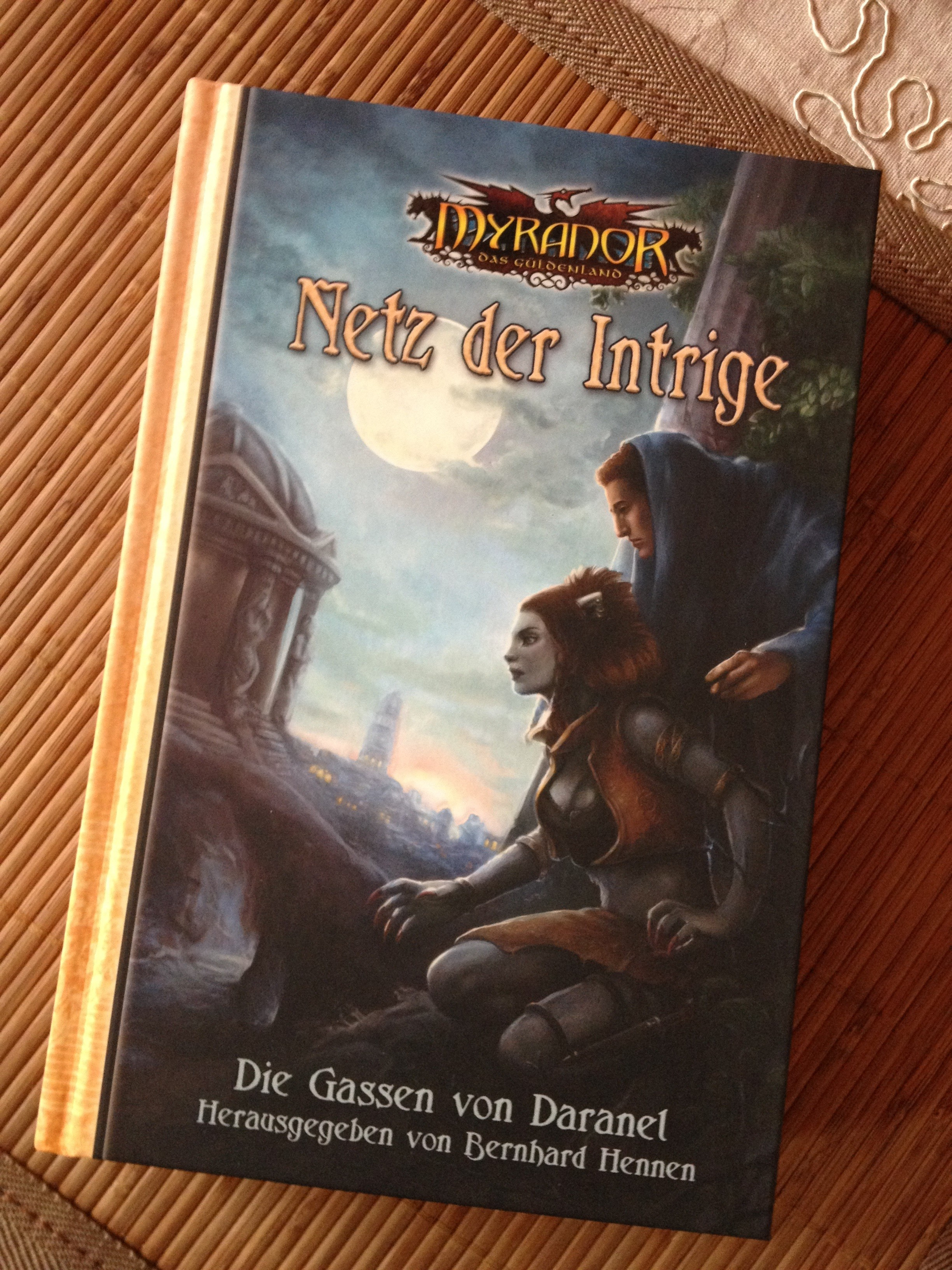 Netz der Intrige - Cover
