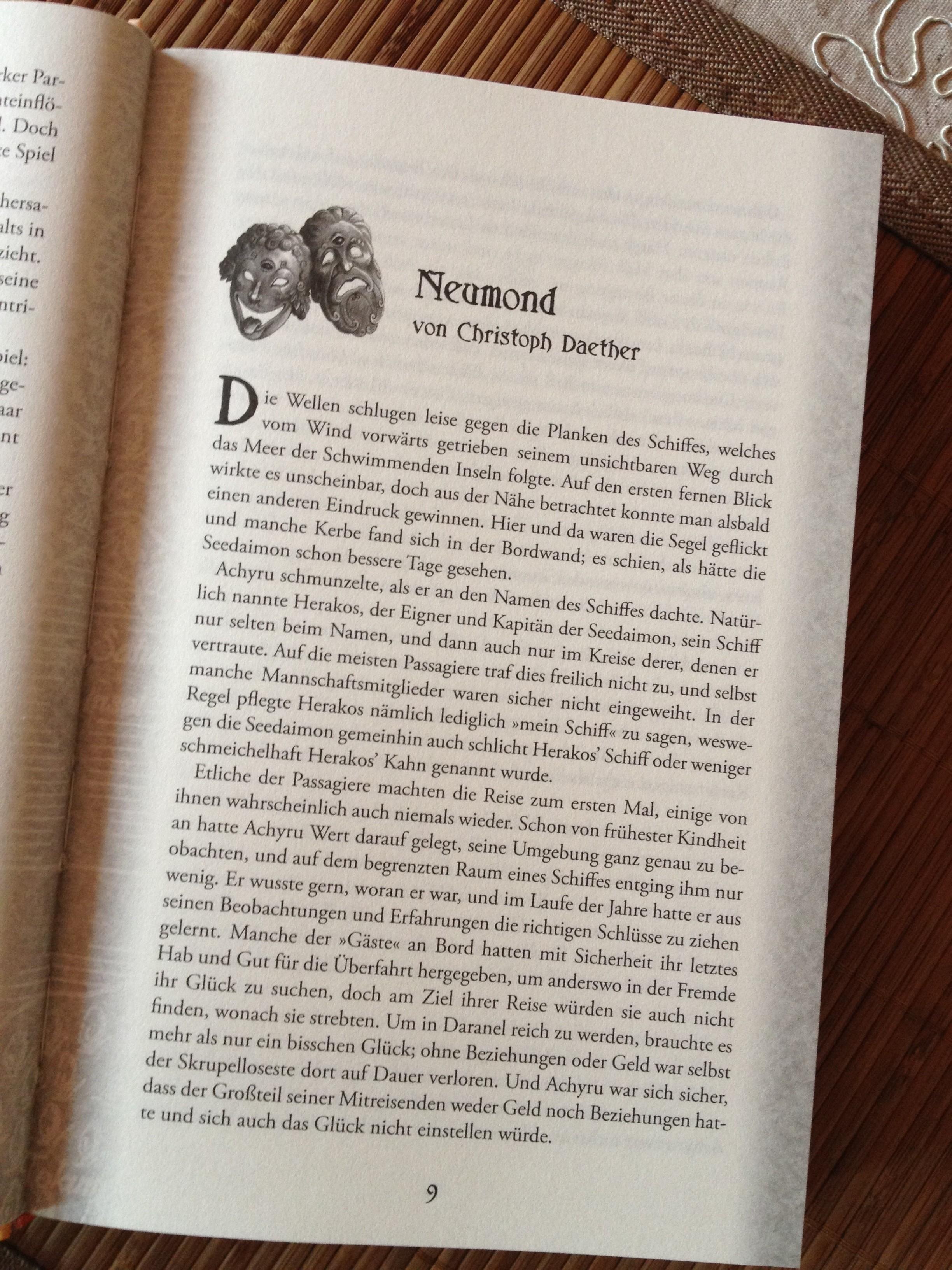 Neumond (Seite 1; Leseprobe)